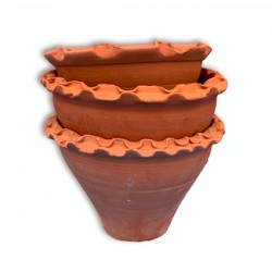 Moroccan flower pot