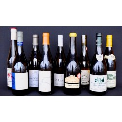 White wines selection
