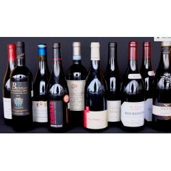 Red wine selection