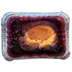 Berries pudding